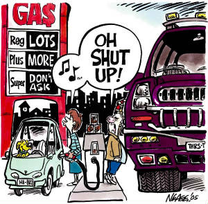 Gas prices, parts shortages to cause consumer woes